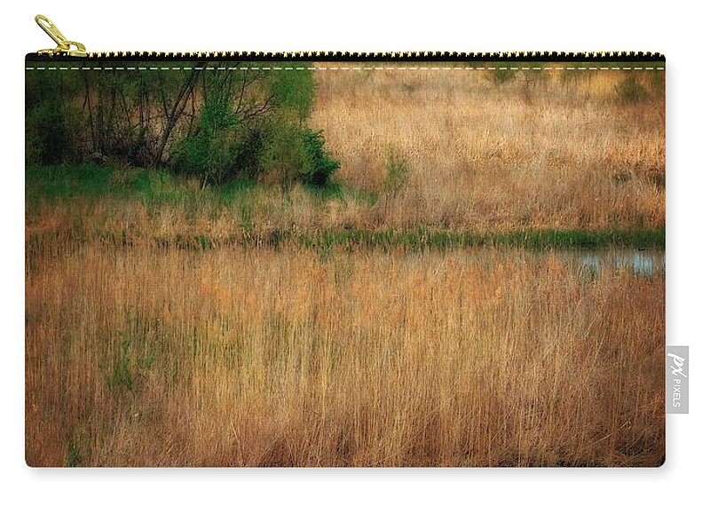Windmill Island Carry-all Pouch featuring the photograph Window On The Waterfront Dezwaan Windmill by Michelle Calkins