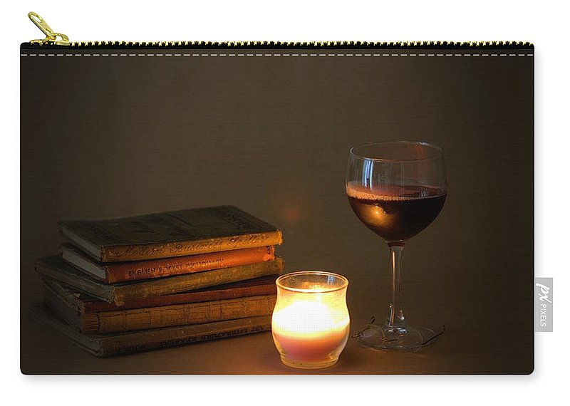 7799 Carry-all Pouch featuring the photograph Wine And Wonder B by Gordon Elwell