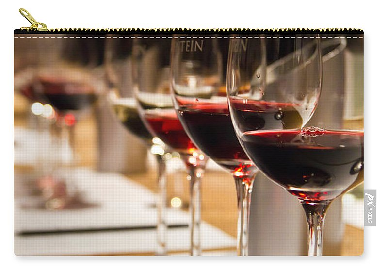 Wine Carry-all Pouch featuring the photograph Wine Tasting by Kent Nancollas