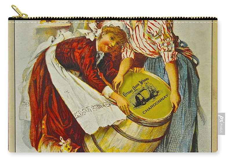 Winery Carry-all Pouch featuring the photograph Winery Art by Frozen in Time Fine Art Photography