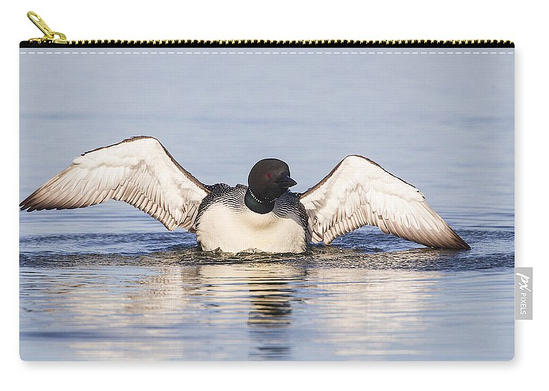 Doug Lloyd Carry-all Pouch featuring the photograph Wing Beats by Doug Lloyd