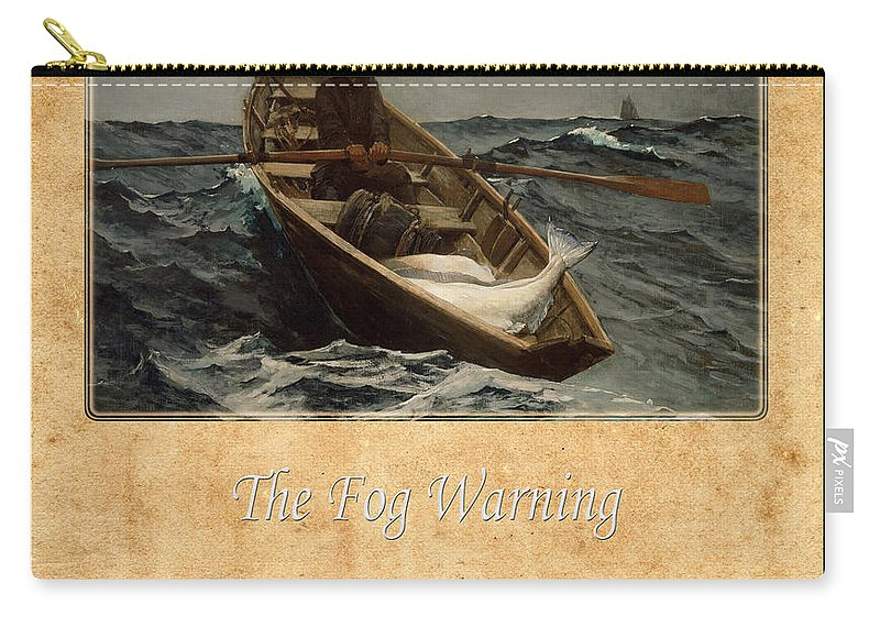Homer Carry-all Pouch featuring the photograph Winslow Homer 4 by Andrew Fare