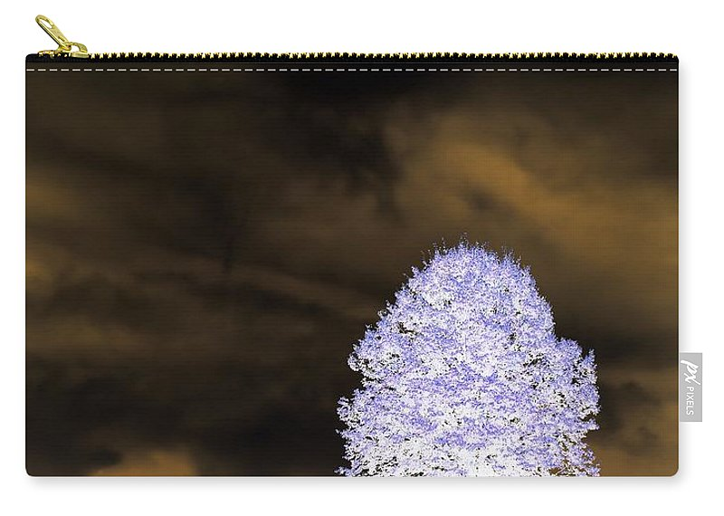 Winter Carry-all Pouch featuring the photograph Winter Night by Tara Potts