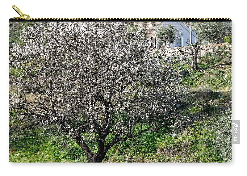 Colette Carry-all Pouch featuring the photograph Winter Spanish Nature Almeria Region by Colette V Hera Guggenheim