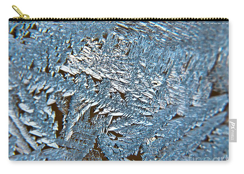 Frost Carry-all Pouch featuring the photograph Winter Sparkles by Cheryl Baxter