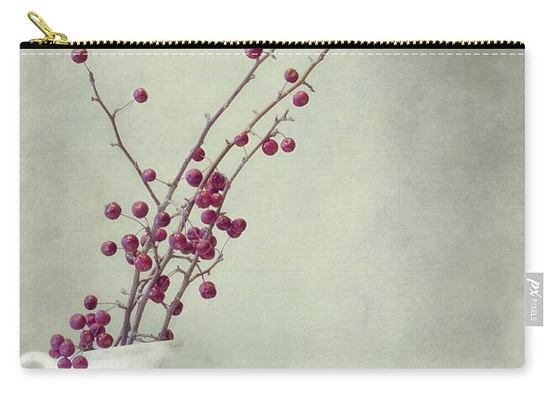 Apple Carry-all Pouch featuring the photograph Winter Still Life by Priska Wettstein