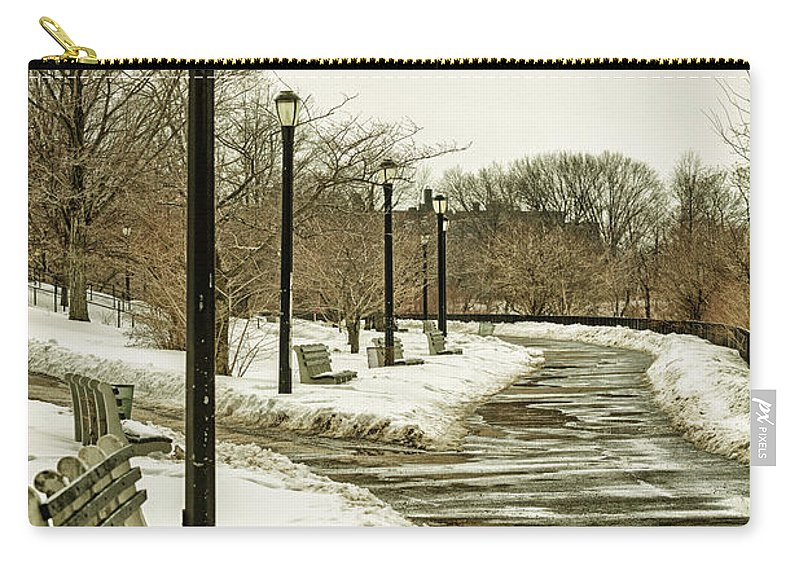 Landscape Carry-all Pouch featuring the photograph Winters Beauty by Valeriy Shvetsov