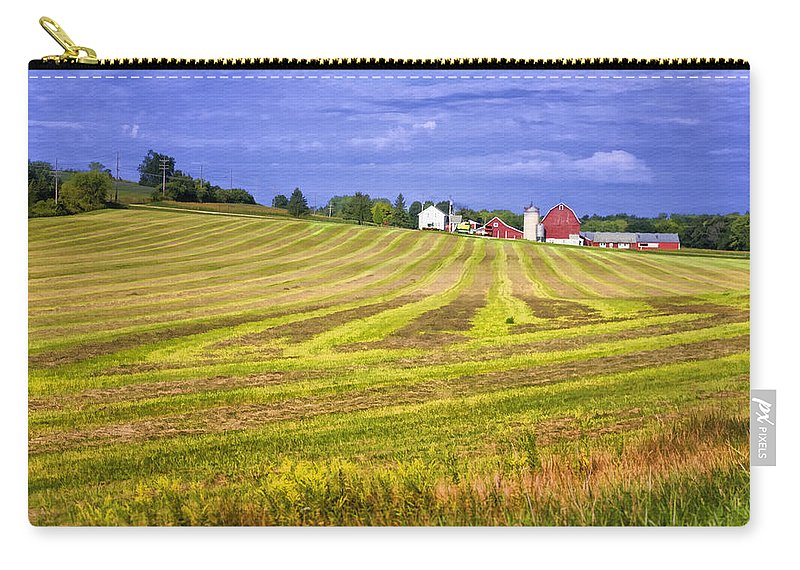American Carry-all Pouch featuring the photograph Wisconsin Dawn by Joan Carroll