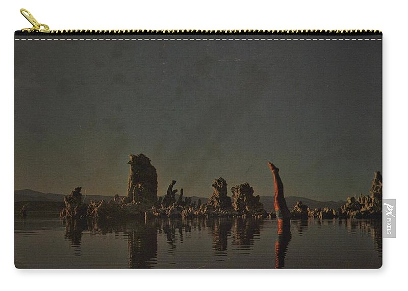 Pink Floyd Carry-all Pouch featuring the photograph Wish You Were Here by Rob Hans