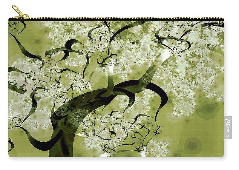Malakhova Carry-all Pouch featuring the digital art Wishing Tree by Anastasiya Malakhova