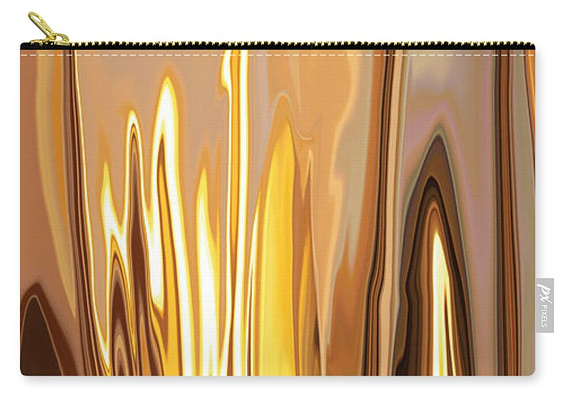 Brown Carry-all Pouch featuring the digital art Within 2 by Rabi Khan