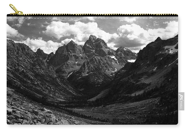 Cascade Canyon Carry-all Pouch featuring the photograph Within The North Fork Of Cascade Canyon by Raymond Salani III