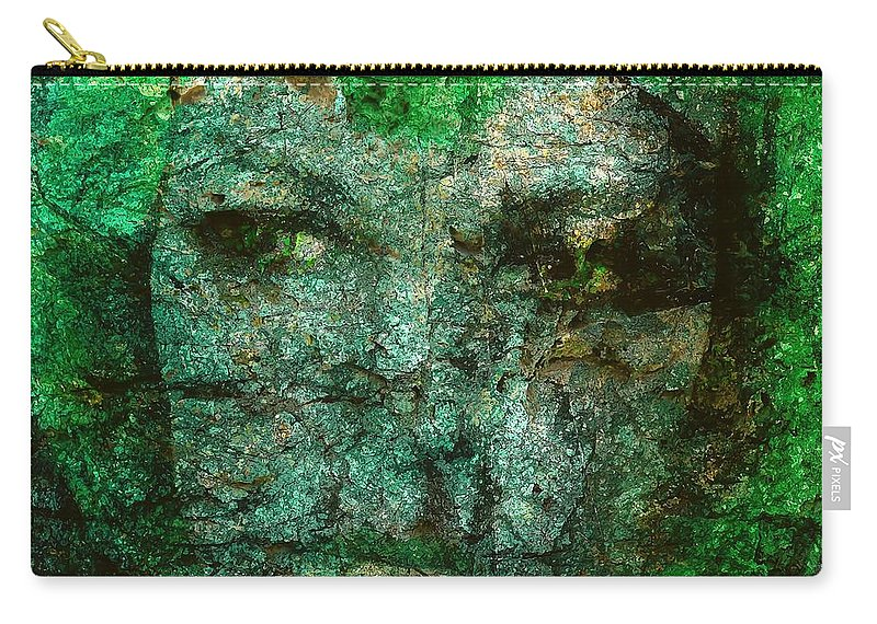 Graphics Carry-all Pouch featuring the digital art Women 0487 - Marucii by Marek Lutek