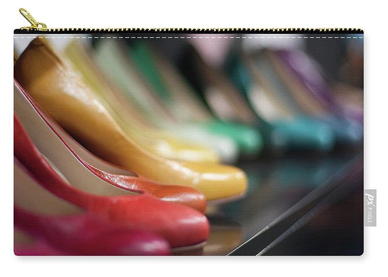 Belgium Carry-all Pouch featuring the photograph Womens Shoes by Dutchroth