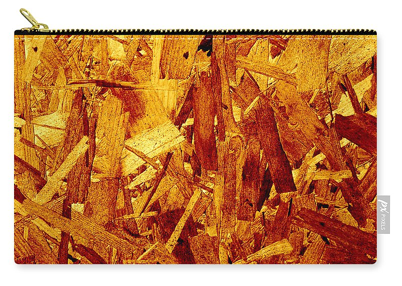 Backdrop Carry-all Pouch featuring the photograph Wood by TouTouke A Y