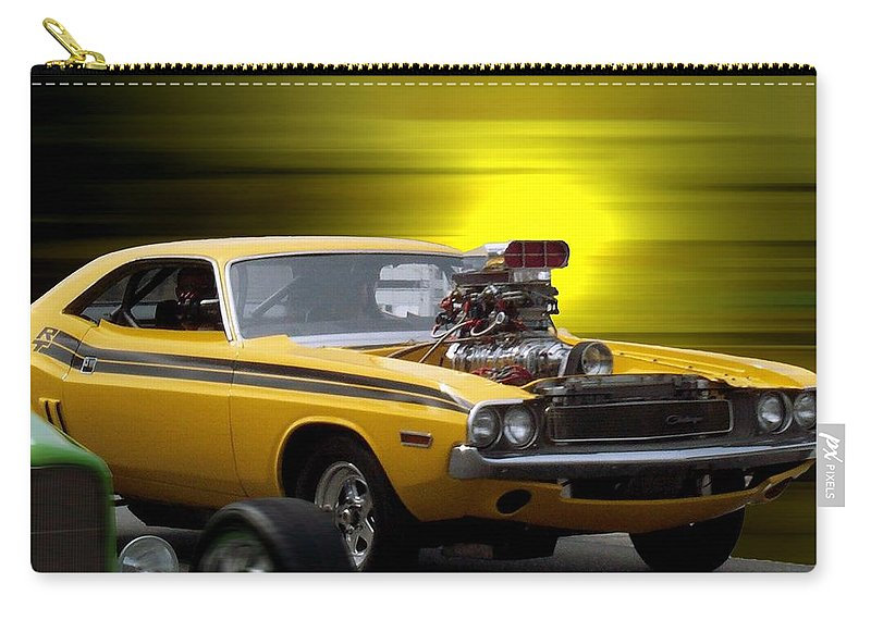 Transportation Carry-all Pouch featuring the photograph Woodward Avenue Dream Cruise by Thomas Woolworth