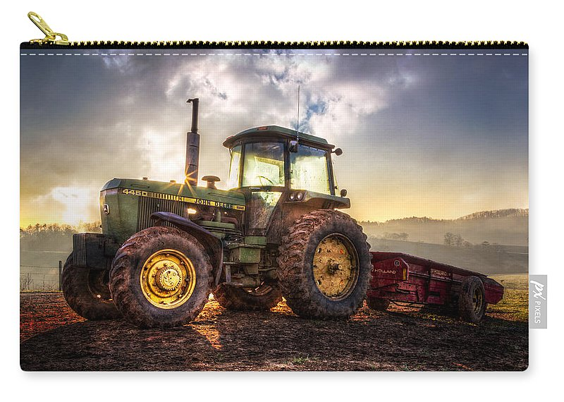 4450 Carry-all Pouch featuring the photograph Workhorse II by Debra and Dave Vanderlaan