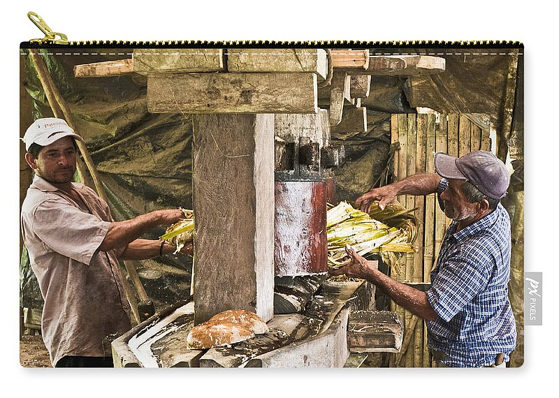 People Carry-all Pouch featuring the photograph Working Hard For Sugar by Heiko Koehrer-Wagner