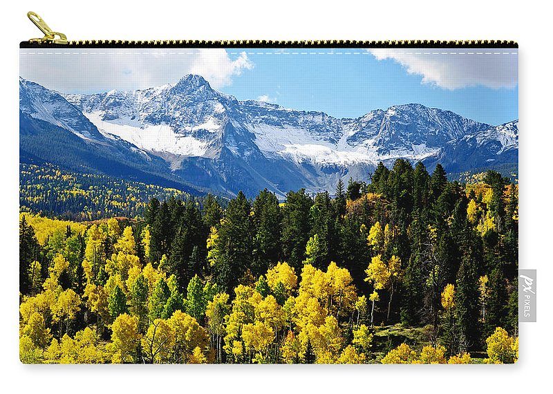Colorado Photographs Carry-all Pouch featuring the photograph Wow by Gary Benson