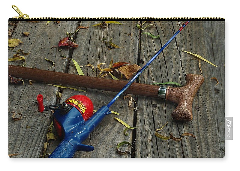 Angling Carry-all Pouch featuring the photograph Wrapped In Time by Peter Piatt