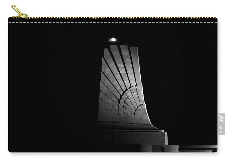 Wright Brothers National Memorial Carry-all Pouch featuring the photograph Wright Brothers National Memorial by Greg Reed