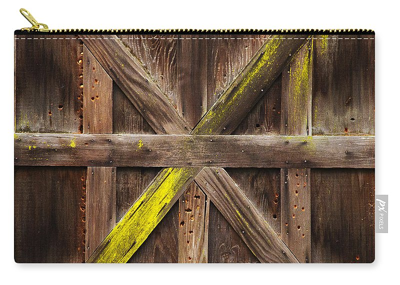 Winter Storage Carry-all Pouch featuring the photograph X Marks The Spot by Guy Shultz