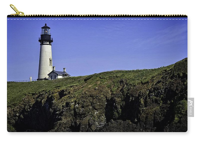Newport Carry-all Pouch featuring the photograph Yaquina Head by Image Takers Photography LLC - Carol Haddon