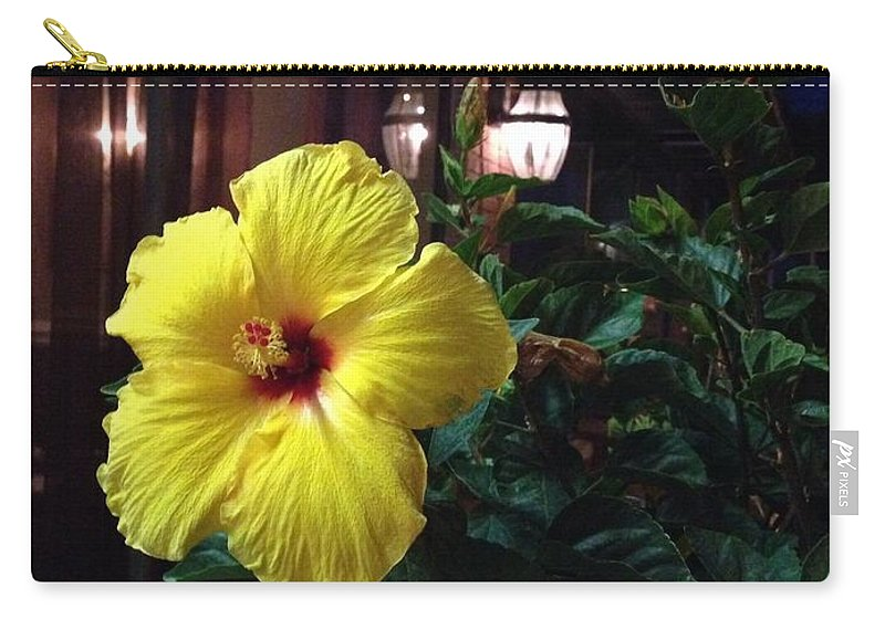 Yellow Carry-all Pouch featuring the photograph Yellow Beauty by Christy Gendalia