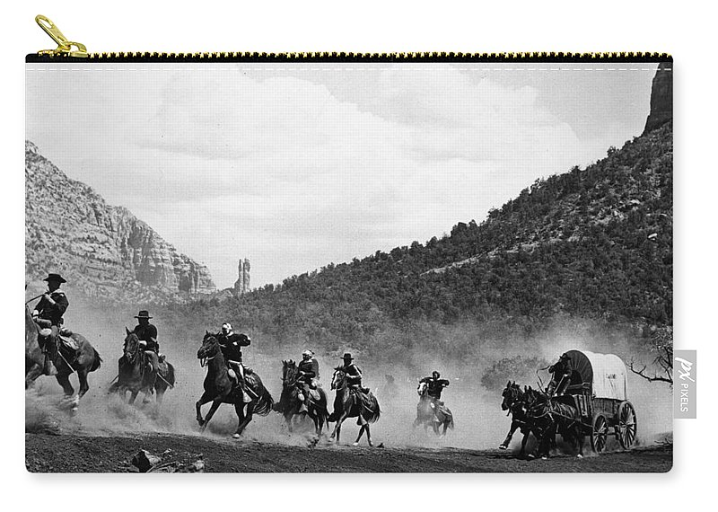 Arizona Carry-all Pouch featuring the photograph Yellowstone Kelly 1 by Bob Bradshaw