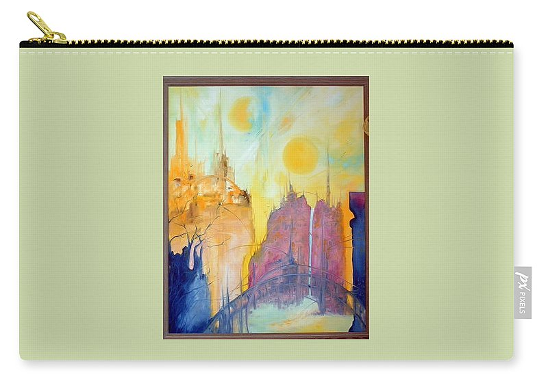 Modern Carry-all Pouch featuring the painting Yesterday by Lord Frederick Lyle Morris - Disabled Veteran