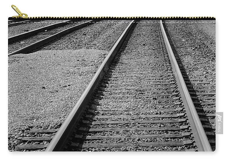 Train Carry-all Pouch featuring the photograph Yesteryear by Frozen in Time Fine Art Photography