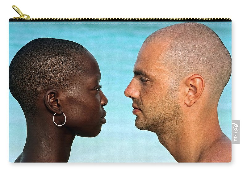 Man Carry-all Pouch featuring the photograph Yin Yang by Skip Hunt