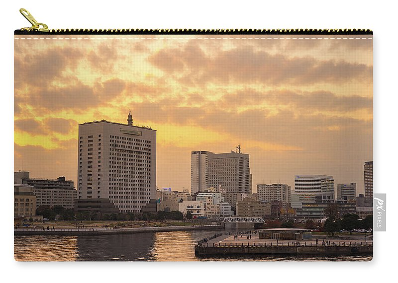 Tranquility Carry-all Pouch featuring the photograph Yokohama by I Like Camera And Life