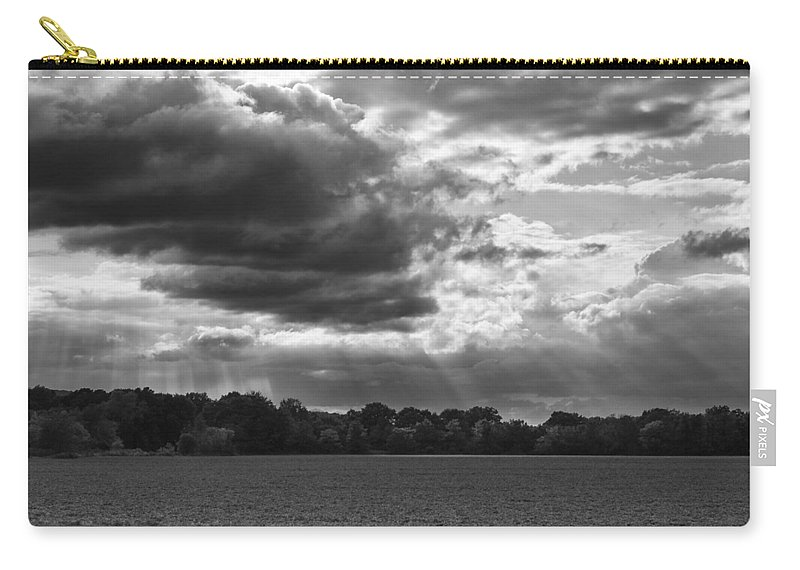 Christi Kraft Carry-all Pouch featuring the photograph Yonder Breaks by Christi Kraft