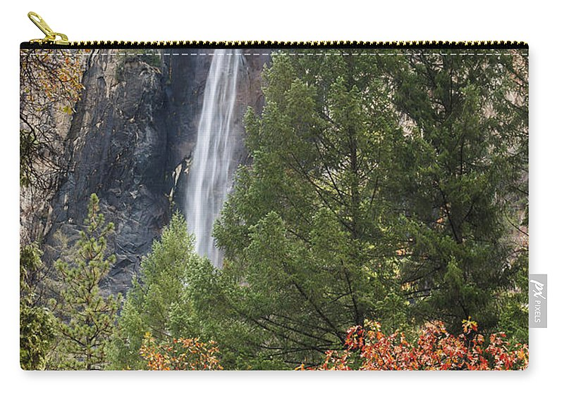 Yosemite National Park Carry-all Pouch featuring the photograph Yosemite by Muhie Kanawati