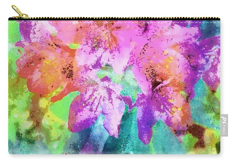Jesus Carry-all Pouch featuring the digital art You As Lord by Michelle Greene Wheeler