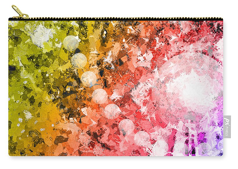 Carry-all Pouch featuring the digital art You Know Me 1 by Angelina Vick