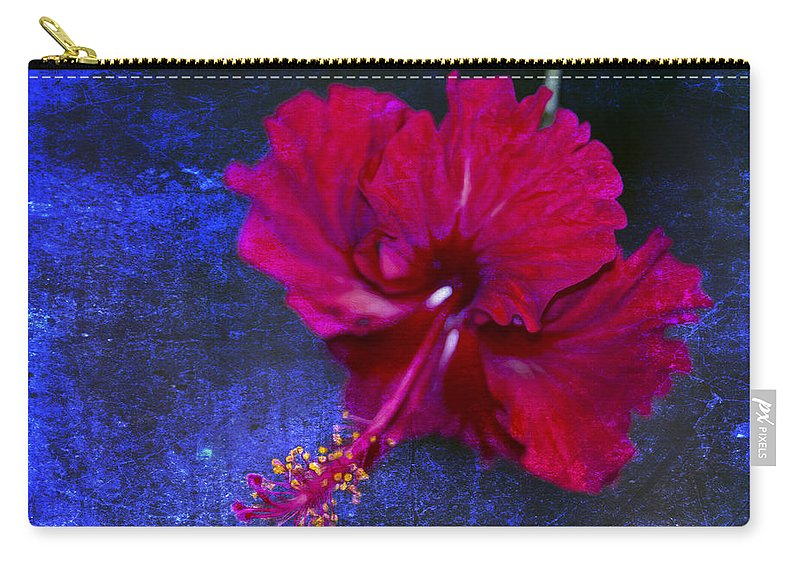 Hawaii Rose Carry-all Pouch featuring the photograph Young Passion... by Nina Stavlund