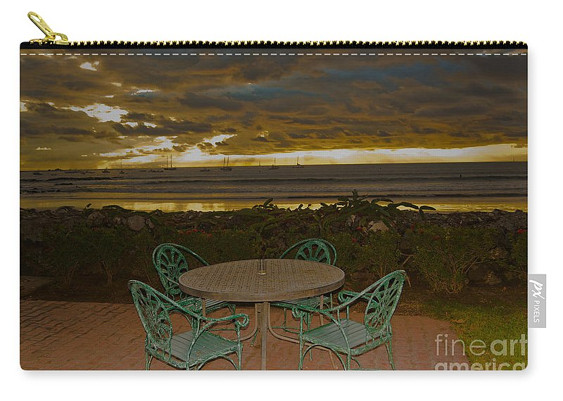 Boat Carry-all Pouch featuring the photograph Your Table Is Ready by Gary Keesler
