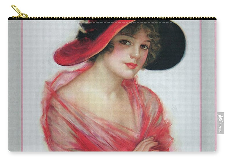 Sheet Music Carry-all Pouch featuring the painting You're The Dawn Of A New World To Me by Ric Bascobert