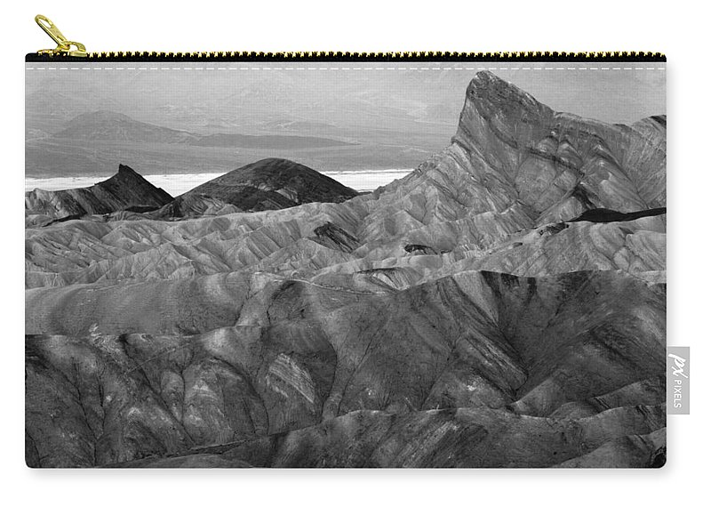 Zabraski Point Carry-all Pouch featuring the photograph Zabraski Point Death Valley Img 4359 by Greg Kluempers