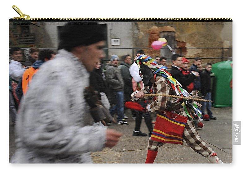 Spain Carry-all Pouch featuring the photograph Zangarron by Rafa Rivas