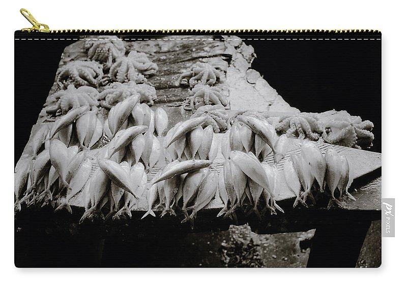 Zanzibar Carry-all Pouch featuring the photograph Zanzibar Fish by Shaun Higson