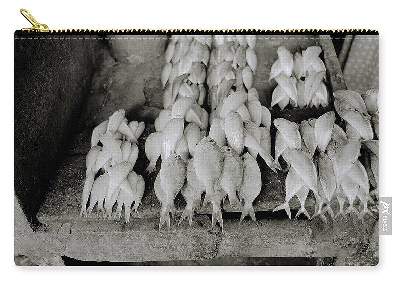 Zanzibar Carry-all Pouch featuring the photograph Zanzibar Seafood by Shaun Higson
