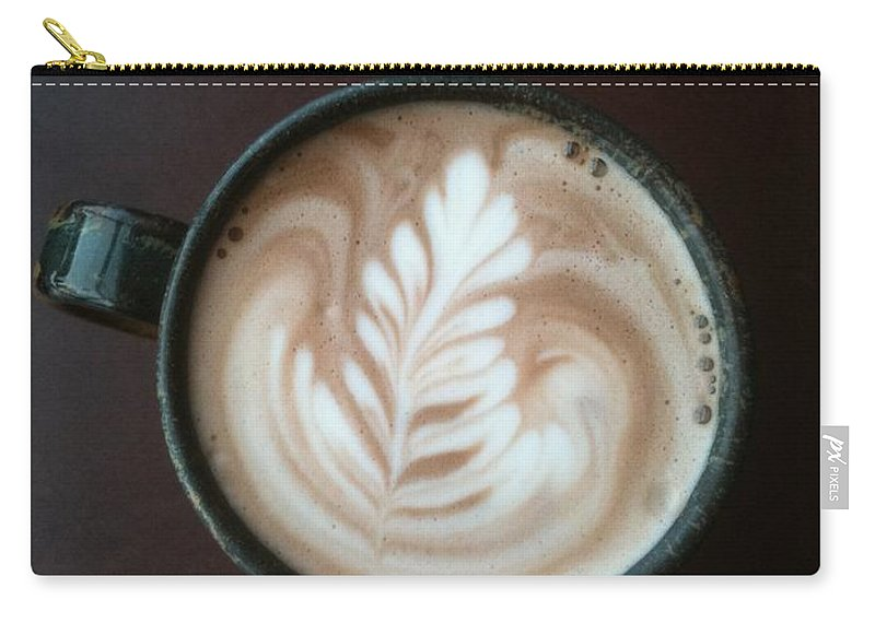 Miscellaneous Carry-all Pouch featuring the photograph Zen Cocoa by Coleen Harty