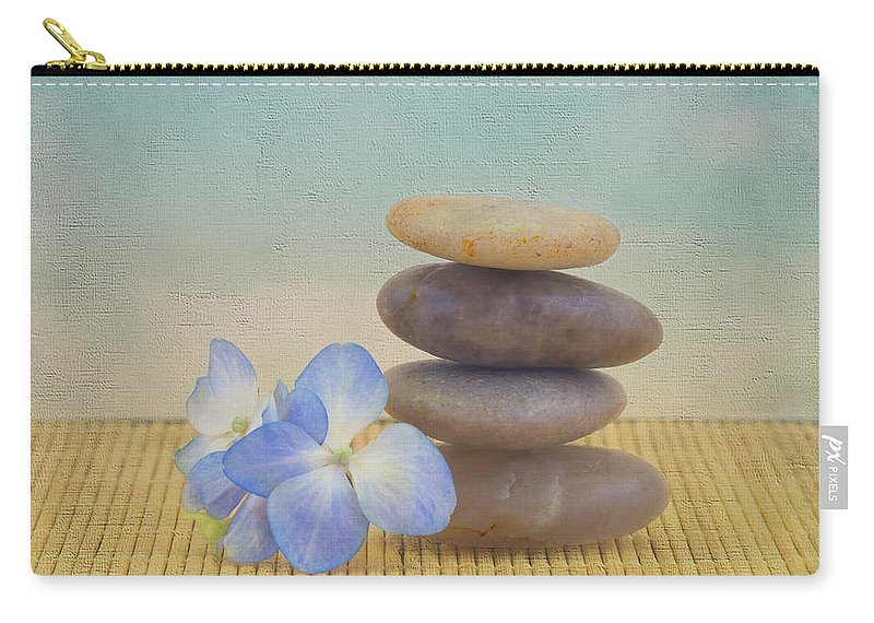 Zen Carry-all Pouch featuring the photograph Zen by Kim Hojnacki