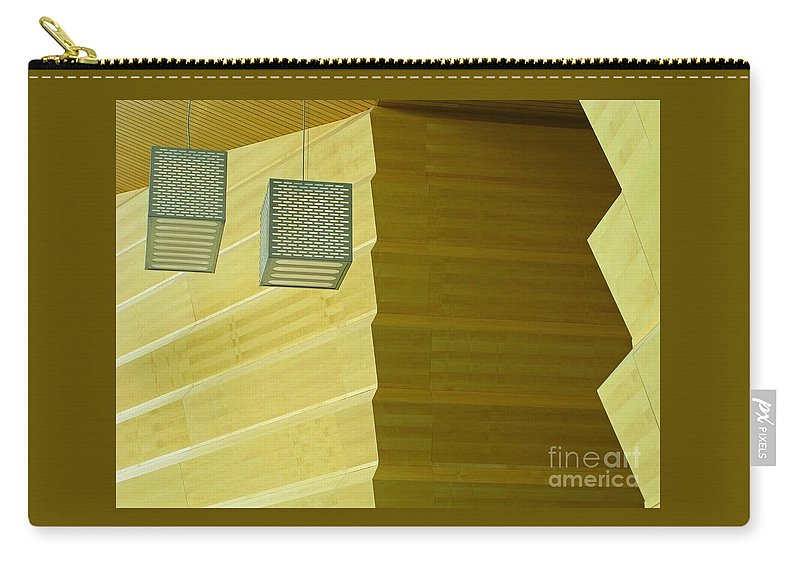 Zig-zag Carry-all Pouch featuring the photograph Zig-zag by Ann Horn