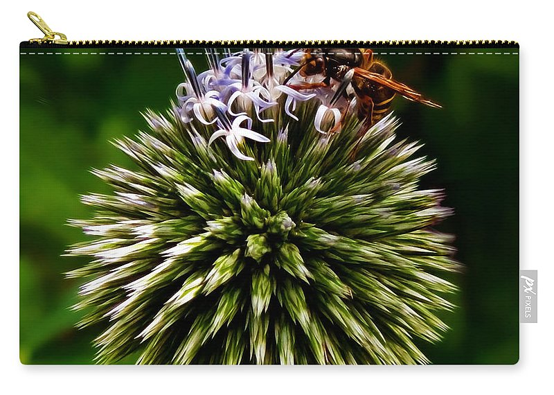 Allium Carry-all Pouch featuring the photograph Zoom by Susie Peek