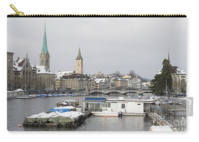 City Carry-all Pouch featuring the photograph Zurich by Mats Silvan