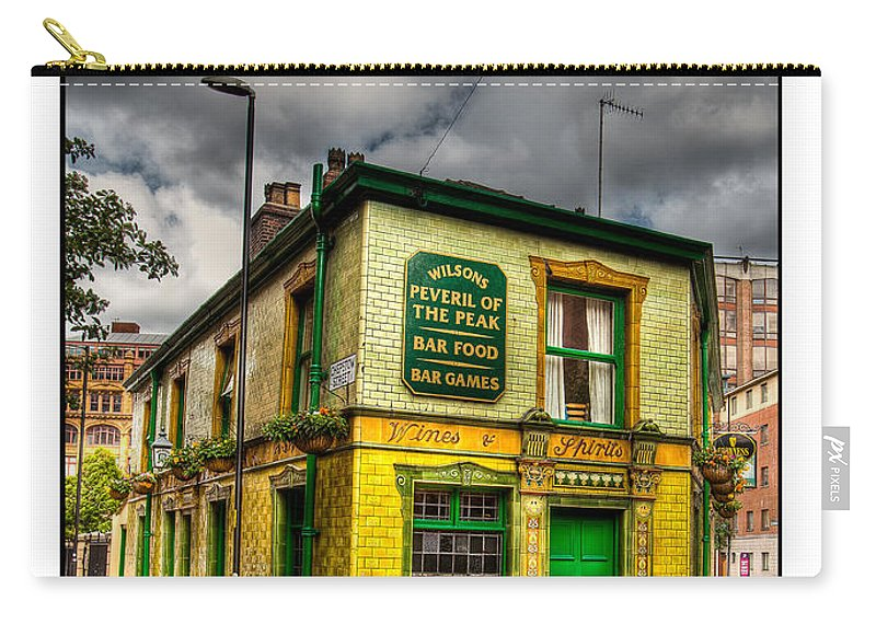 Victorian Carry-all Pouch featuring the photograph Relics - Old Pub by Beverly Cash